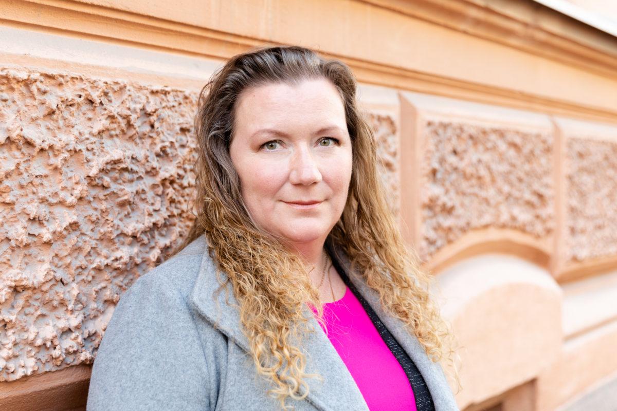 Puheenjohtaja Maija S. Peltola
